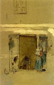 James Abbott McNeill Whistler, The Open Door, 1901