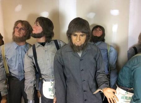 Found on Craigslist - Full Sized Wax Amish Figures