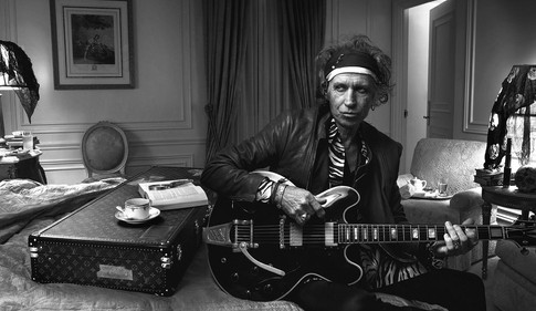Keith Richards, Photographer: Annie Leibovitz