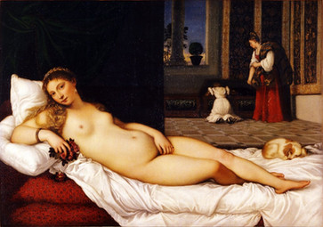 Venus of Urbino Titian-1538