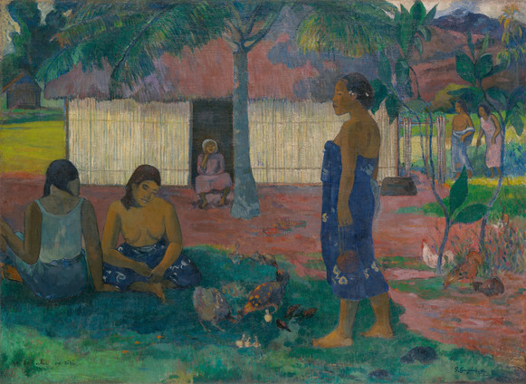 Paul Gauguin, No te aha oe riri 1896