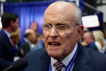 "Onion Headline Yesterday Afternoon: ""Giuliani Insists Breaking The Law Not A Crime"""