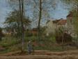 Camille Pissarro, Landscape at Louveciennes (Autumn), French, 1870