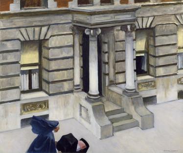 Edward Hopper, New York Pavements 1924