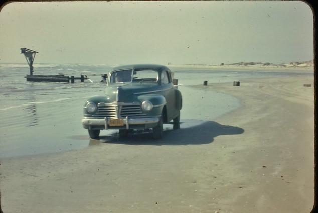 1947 Corpus Tass, 15 miles down the 846. Beach at Mustang Island
