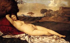 Sleeping Venus, Giorgione, 1508 – 1510