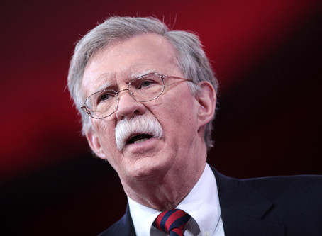 John Bolton's New Book Will Argue that Trump's Corruption Extended Far Beyond the Ukraine Scandal