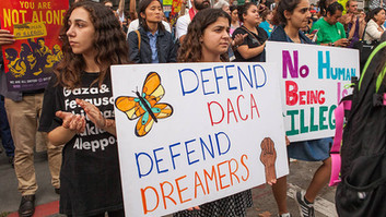 DACA & the Wall Set to Become Wedge Issues for the Fall Campaign