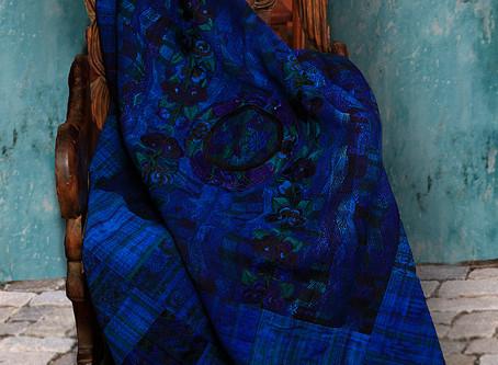 Fair Trade, Guatemalan, Vivid Blue Throw Blankets Back in Stock at Illuminate