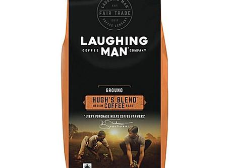 Hugh Jackman and Laughing Man Fair Trade Coffee