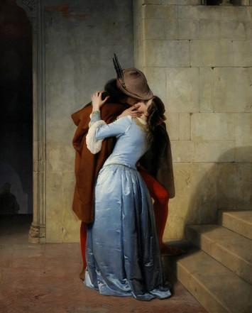 Francesco Hayez, The Kiss (1859)