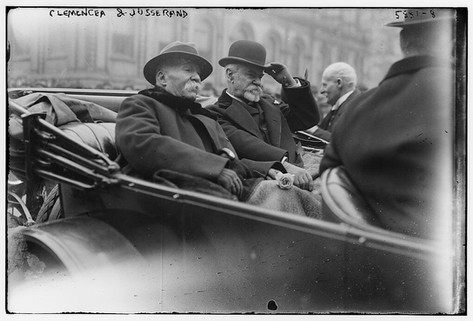Clemenceau, probably in Washington DC, 1922