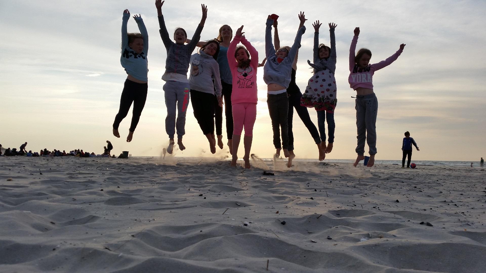 Zweitjüngste Mädchengruppe