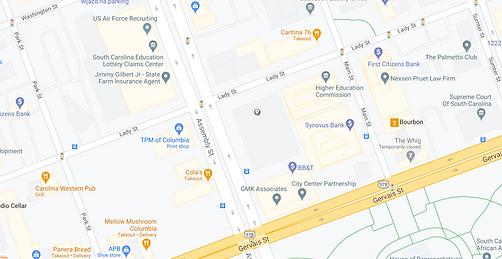 Lady Street Garage Location