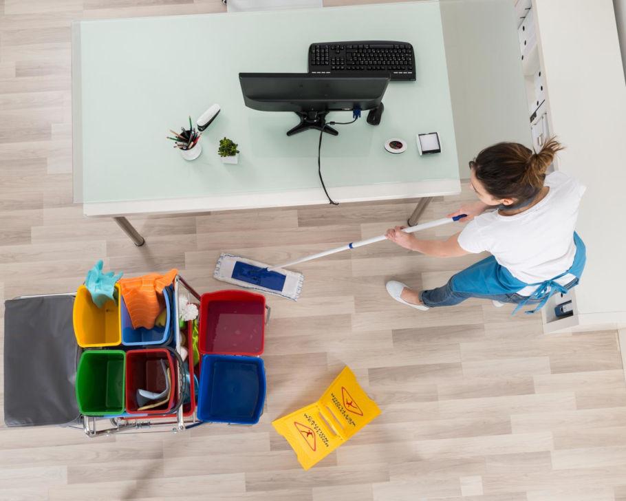 Attività di pulizia uffici e banche
