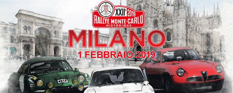 ArgoPro al rally storico di Monte-carlo 2019 MIlano