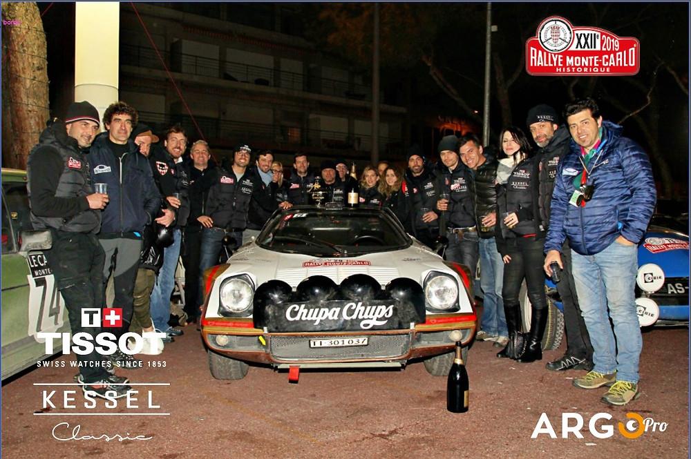 ArgoPro e Kessel al rally storico di Monte-Carlo