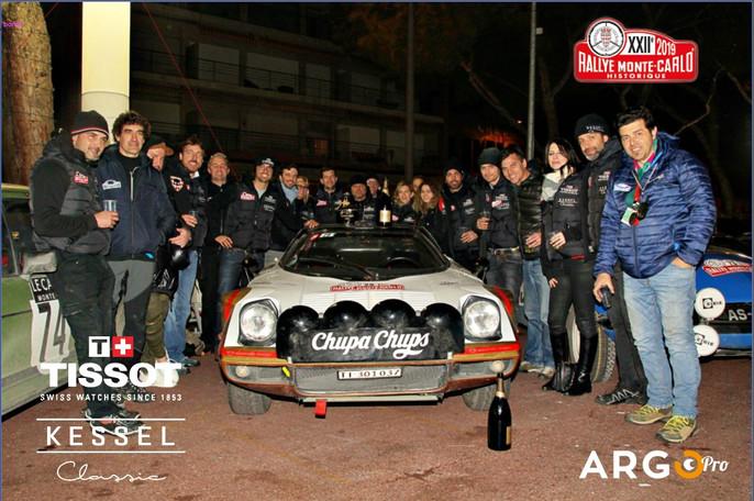 Tissot-Kessel Classic taglia il traguardo del Rally storico di Montecarlo insieme ad ArgoPro