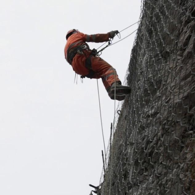 Consolidamento roccioso