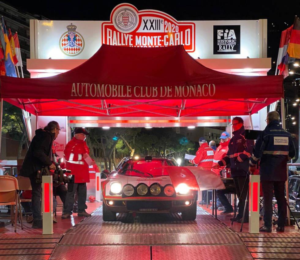 Equipaggio Team Kessel Classic Rally Storico di Montecarlo