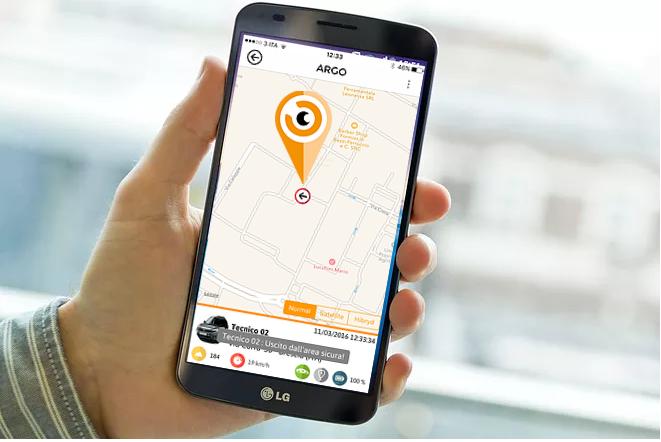 ArgoPro, il localizzatore GPS per il personale mobile, rilascia la nuova funzione voce.