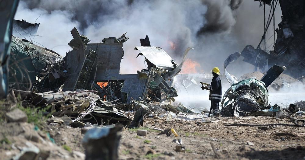 attentato terroristico, disastro aereo
