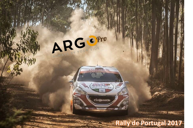 Rally Portogallo, Mondiale 2017: ArgoPro festeggia l'equipaggio Brazzoli-Barone, primo degli italian
