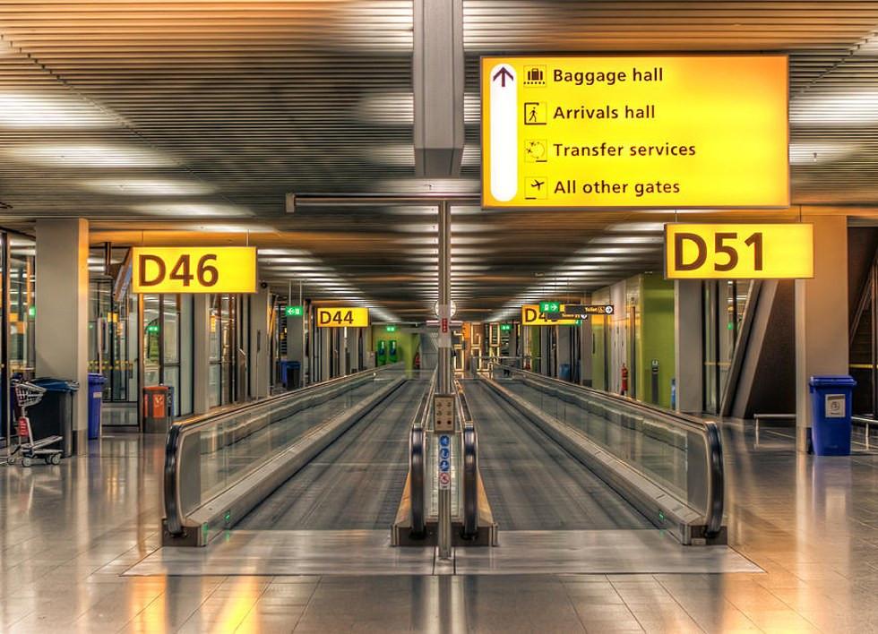 sicurezza in aeroporto