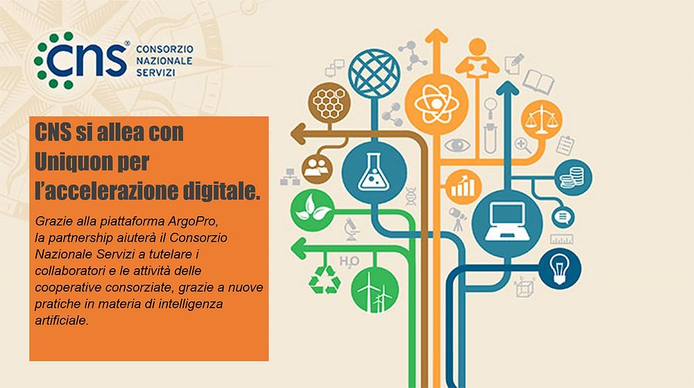 CNS sceglie Uniquon per l'accelerazione digitale