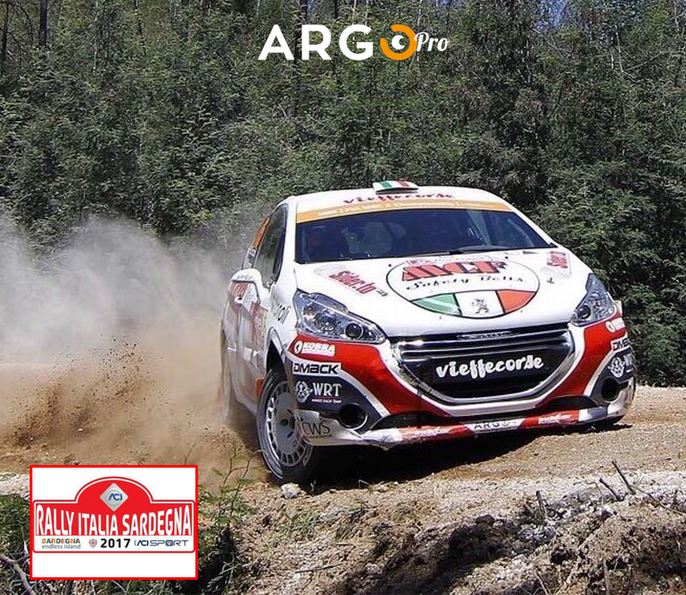 ArgoPro sbarca in Sardegna col Rally d'Italia, Mondiale 2017.