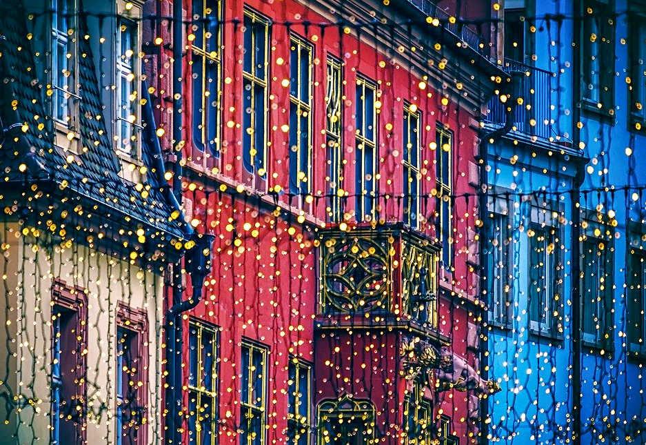 Addobbi luci in città