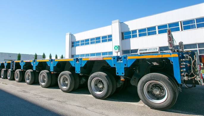 Gli automezzi speciali del Gruppo Marta Fernando                         si affidano ad ArgoPro