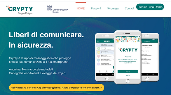 Crypty_comunicazioni sicure_home.png