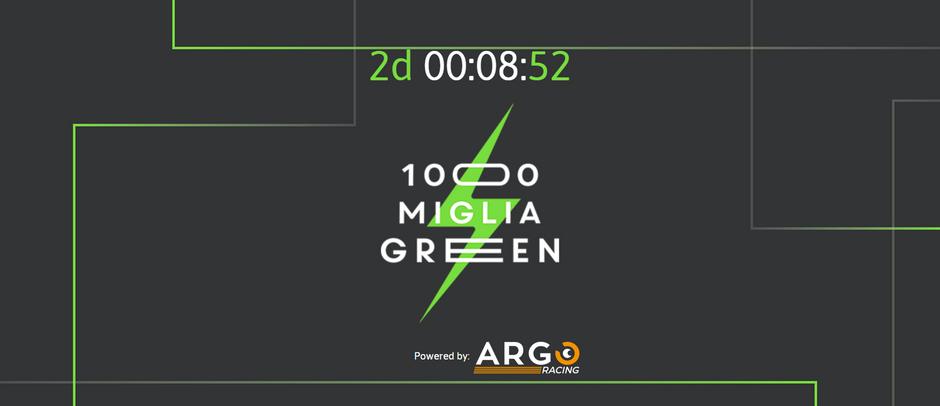 Argo Racing fornitore ufficiale di 1000 Miglia Green 2019. Tracking, diretta live e sicurezza.