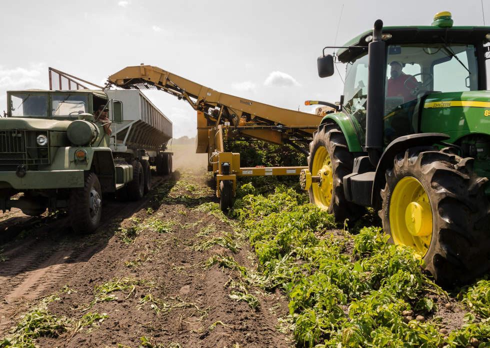 Nioleggio macchinari per l'agricoltura