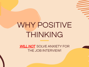 Why positive thinking alone will not help with your anxiety