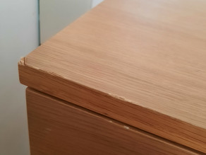 The chipped drawer