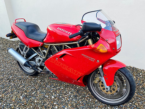 DUCATI 750 SUPERSPORT - LOW MILEAGE EXAMPLE - BIKE IS NOW SOLD