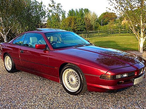 BMW 840i V8 SPORTS COUPE