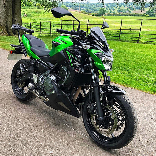 KAWASAKI Z650 ABS - LOW MILEAGE AND FITTED EXTRAS