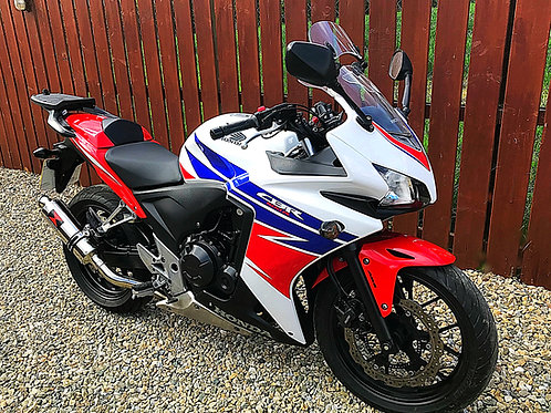 HONDA CBR 500R - STUNNING EXAMPLE + LOADED WITH EXTRAS