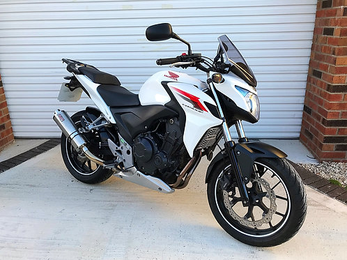 HONDA CB500F - LOTS OF EXTRAS + IMMACULATE