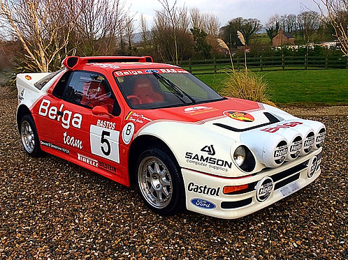 FORD RS200 EVO BELGA GROUP B RECREATION