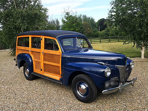 FORD WOODIE STATION WAGON SUPER DELUXE