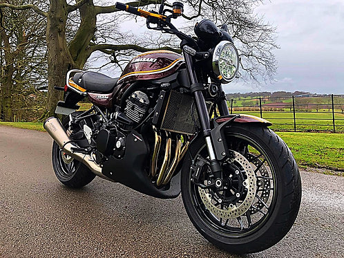 KAWASAKI Z900 RS ASHAKI COLOURS - BIKE IS NOW SOLD
