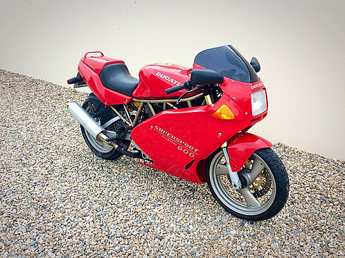 DUCATI 600 SUPERSPORT— LOW MILES