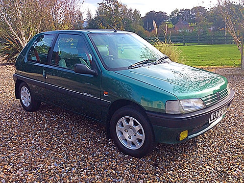 PEUGEOT 106 ROLAND GARROS LTD EDITION