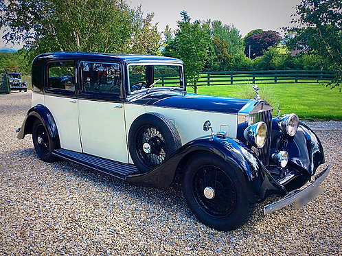 ROLLS ROYCE 20/25 SPORTS SALOON BY BARKER