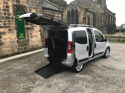 FIAT QUDO SWITCH FULLY REMOTE WHEELCHAIR ADAPTED VEHICLE