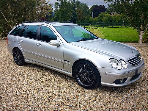 MERCEDES C55 AMG ESTATE - HUGE SPEC